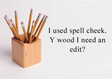 Editing an essay